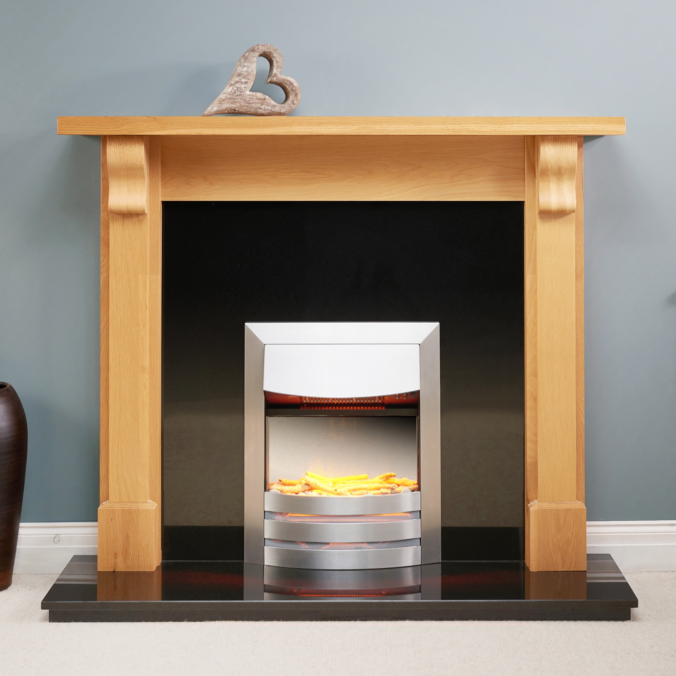 Fairways Harlech Solid Oak Fire Surround