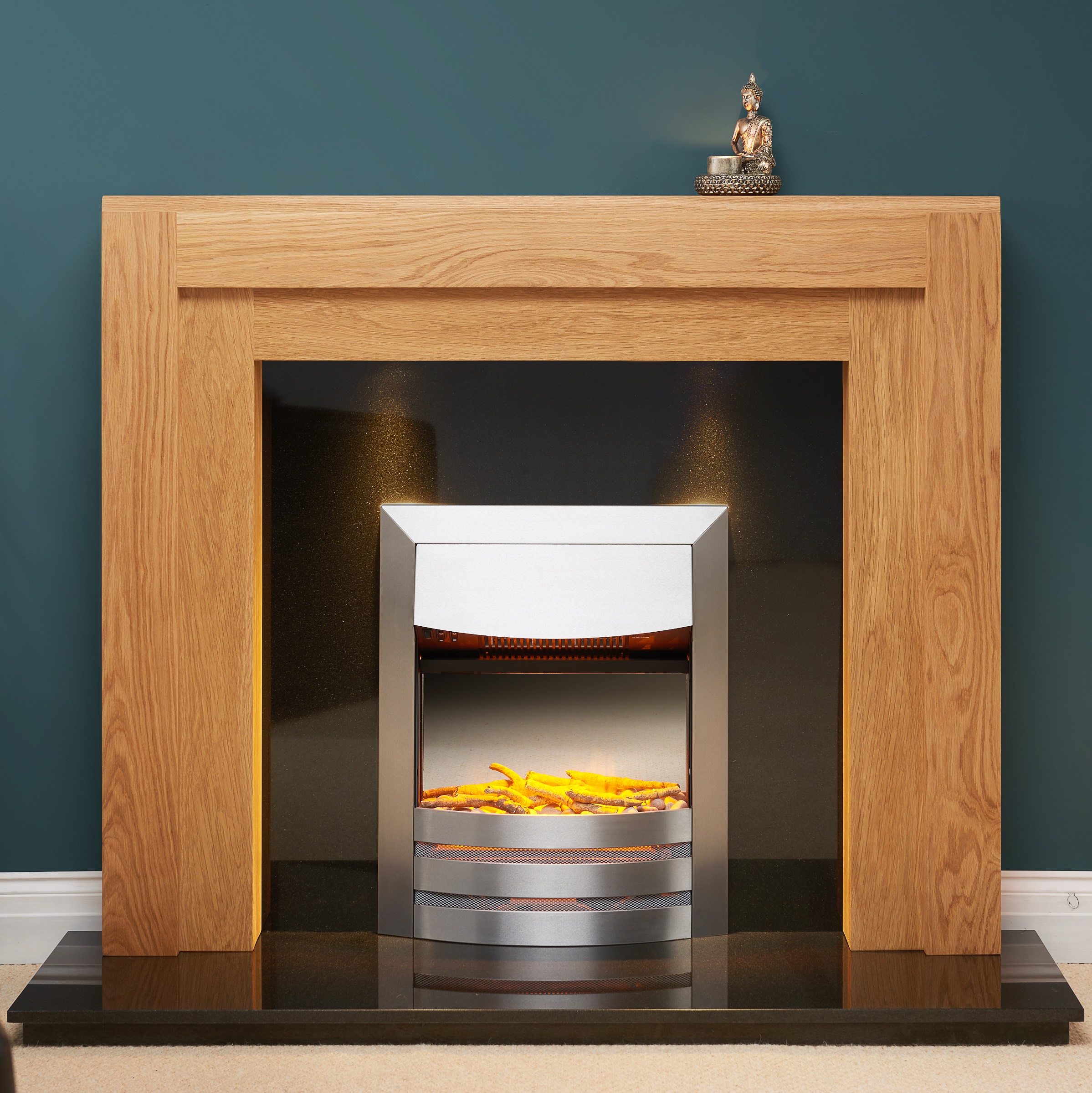 Fairways Millennium Solid Oak Fire Surround